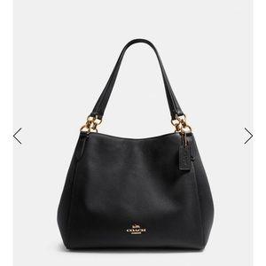 COACH Hallie Shoulder Bag